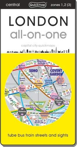 9780956481429: London All-on-One: Tubes, Buses, Trains, Walking and Cycling 2015