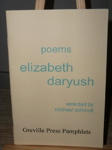 9780956487575: Poems: Elizabeth Daryush