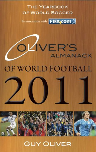 9780956490919: Oliver's Almanack of World Football 2011: The Yearbook of World Soccer. In Association with Fifa.Com