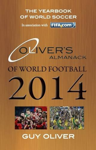 9780956490957: Oliver's Almanack of World Football 2014: The Yearbook of World Soccer. In Association with FIFA.com