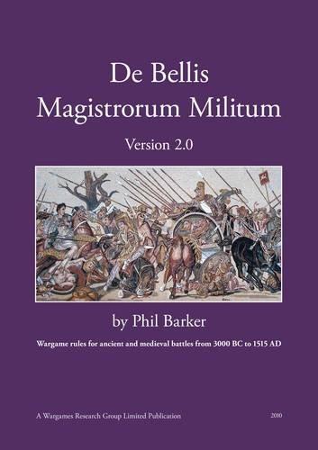 9780956546807: De Bellis Magistrorum Militum (DBMM) Version 2