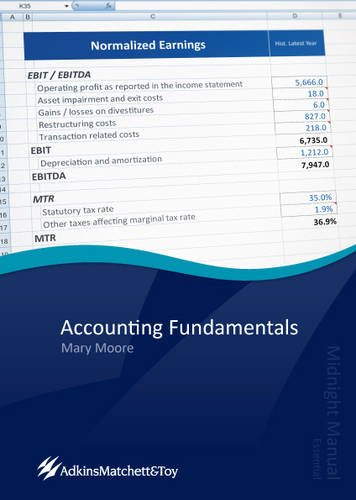 9780956565754: Accounting Fundamentals: Midnight Manual