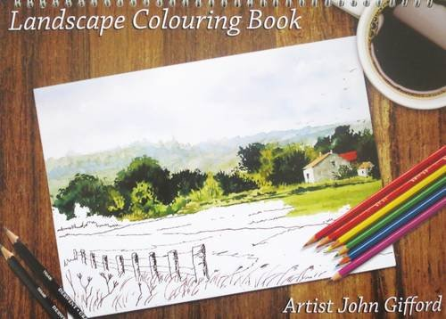 9780956581617: Landscape Colouring Book