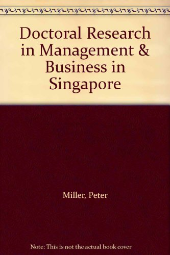 9780956594907: Doctoral Research in Management & Business in Singapore
