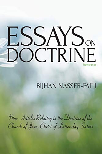 9780956598929: Essays on Doctrine: Nine Articles Relating to the Doctrine of the Church of Jesus Christ of Latter-day Saints