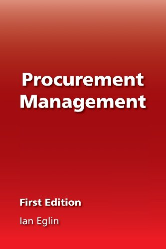 9780956602244: Procurement Management