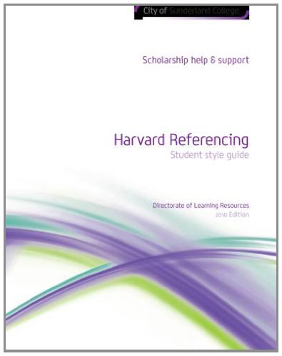 the harvard referencing system+in essay