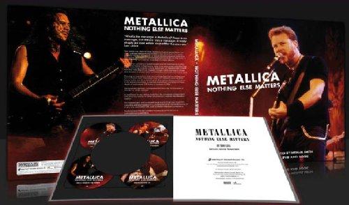 9780956603821: Metallica - Nothing Else Matters (4 DVD Deluxe Edition im Buchformat) [Reino Unido]
