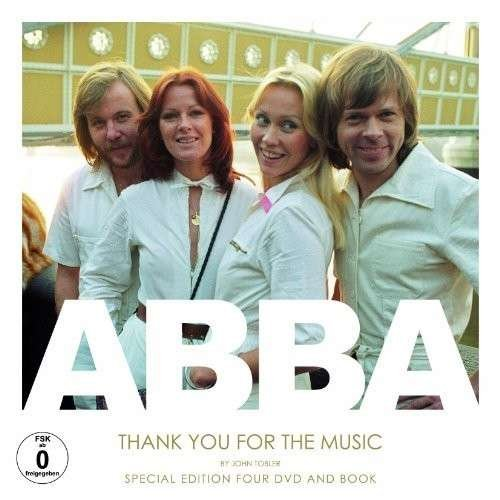 9780956603876: ABBA - Thank you for the Music (4 DVD-Deluxe Edition + 116-seitiges Buch!) [Special Edition] [Reino Unido]