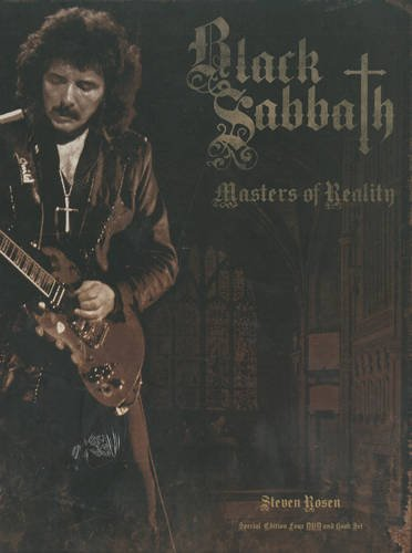 9780956603968: Black Sabbath - Masters Of Reality (4 DVD-Deluxe Edition + 116-seitiges Buch!) [Special Edition] [Reino Unido]