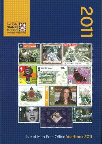 9780956614216: Isle of Man Post Office Yearbook 2011