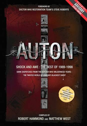 9780956641717: Auton: Shock and Awe: Dark Dispatches from the Doctor Who Wilderness Years