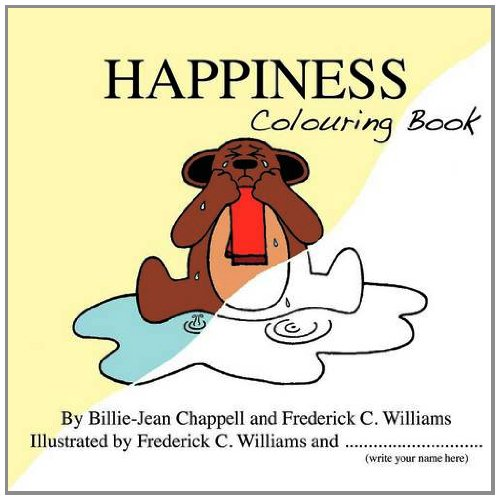 9780956656421: Happiness Colouring Book