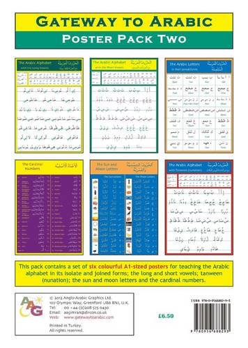9780956688293: Gateway to Arabic Poster Pack Two