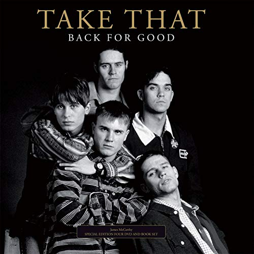 9780956695918: Take That: Back for Good (4 DVD-Deluxe Edition + 116-seitiges Buch!) [Special Edition]
