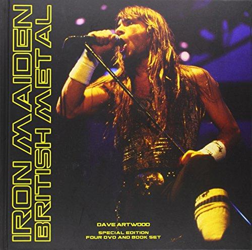 9780956696090: Iron Maiden - British Metal (4 DVD-Deluxe Edition + 116-seitiges Buch!) [Special Edition] [Reino Unido]