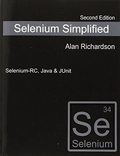 9780956733238: Selenium Simplified