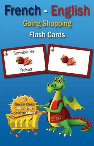 9780956758040: Going Shopping French - English Flash Cards (English and French Edition)