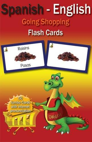 9780956758057: Going Shopping Spanish - English Flash Cards