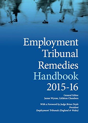 Employment Tribunal Remedies Handbook (Paperback): James Wynne