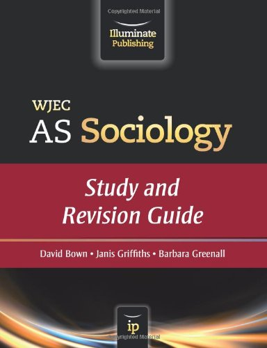 9780956840103: WJEC AS Sociology: Study and Revision Guide