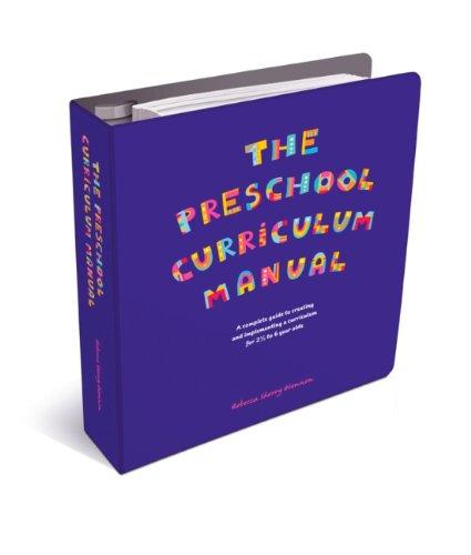 9780956856203: The Preschool Curriculum Manual