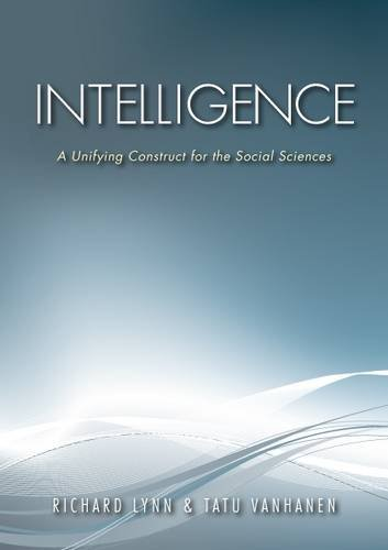 9780956881182: Intelligence: A Unifying Construct for the Social Sciences