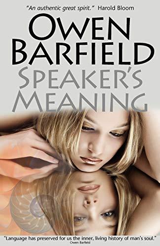 9780956942302: Speaker's Meaning