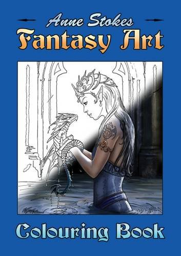 9780956944610: The Anne Stokes Fantasy Art Colouring Book