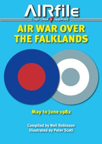 9780956980236: Air War Over the Falklands: May - June 1982 (Airfile Inform & Inspire)
