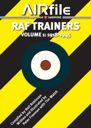 9780956980243: RAF Trainers. Volume 1: 1918 - 1945 (Camouflage and Markings)