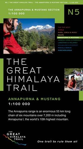 9780956981745: The Great Himalaya Trail N5: The Annapuma & Mustang Section