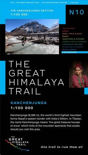 The Great Himalaya Trail N10: The Kanchenjunga Section (Paperback)