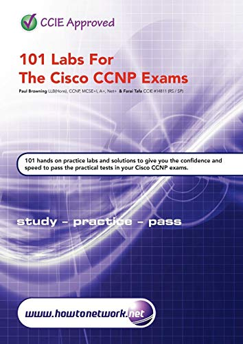 9780956989208: 101 Labs for the Cisco CCNP Exams
