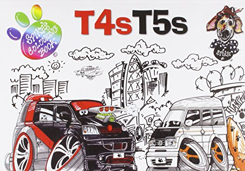 9780956989864: T4s T5s: Spikes Colouring Book