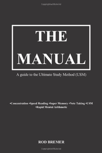 9780956990709: The Manual- A guide to the Ultimate Study Method (USM)