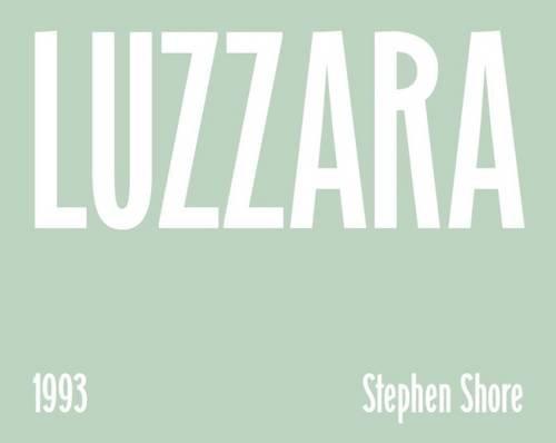 Luzzara: Stephen Shore