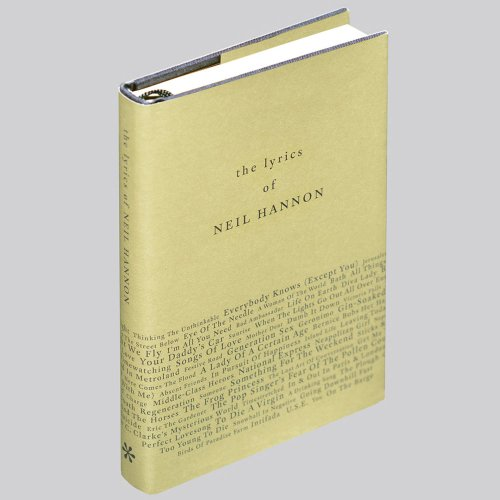 9780957025721: The Lyrics of Neil Hannon