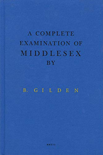 Bruce Gilden: a Complete Examination of Middlesex (Hardcover): Bruce Gilden