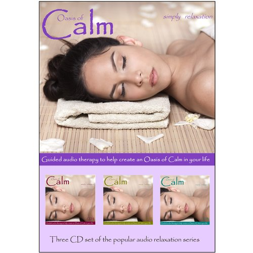 9780957083455: Relaxation CD - Oasis of Calm - Triple CD Set. To help you get to sleep, for Relaxation, Meditation, Sound Therapy, Deep Sleep, Stress Relief, Anxiety and Spa Sessions.