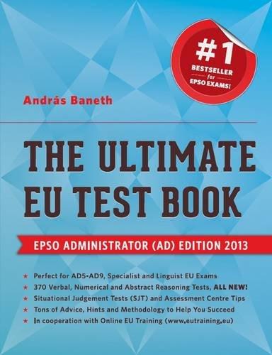 9780957150126: The Ultimate EU Test Book 2013