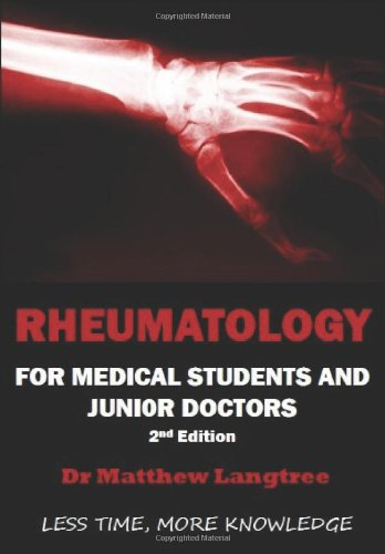 9780957156319: Rheumatology: For Medical Students & Junior Doctors