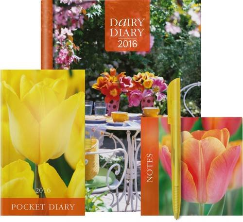 9780957177291: Dairy Diary Set 2016: Week-to-View A5 Kitchen & Home Diary with Pocket Diary & Notepad (Diaries 2016)