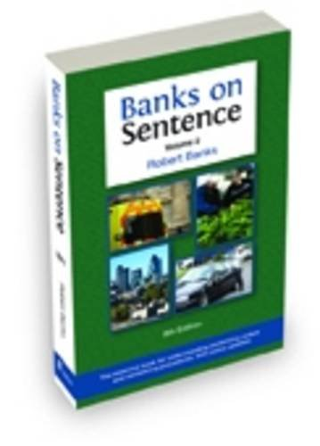 Banks on Sentence 2013: Volume 2 (Paperback): Robert Banks
