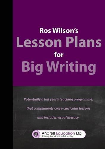 9780957205710: Big Writing Lesson Plans