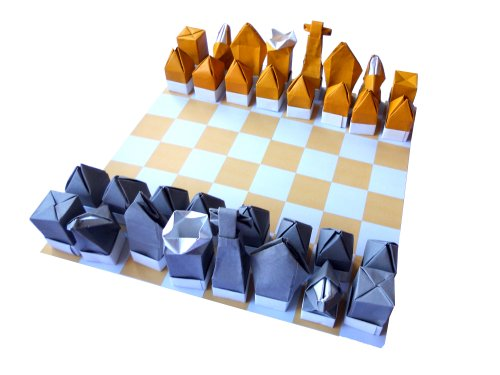 9780957214200: The Origami Chess Set
