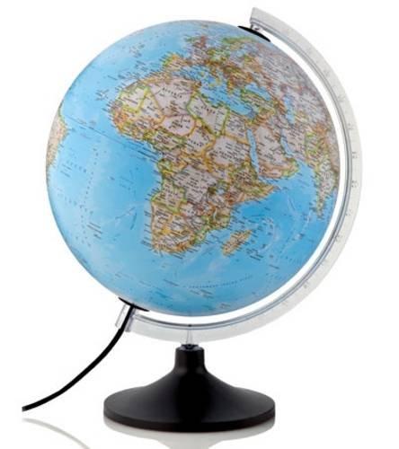 9780957232808: Carbon Classic Illuminated Globe
