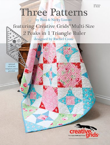 9780957235007: Three Patterns: Featuring Creative Grids Multi-Size 2 Peaks in 1 Triangle