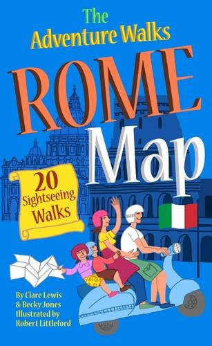 9780957333826: Adventure Walks Rome Map