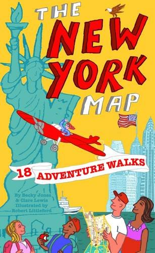 9780957333840: Adventure Walks New York Map: Sightseeing Walks for Families (Adventure Walks World City Map Series)